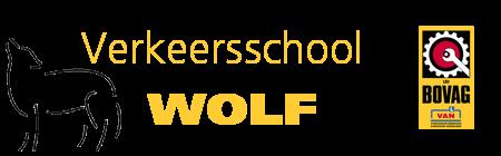 Logo Verkeersschool Wolf